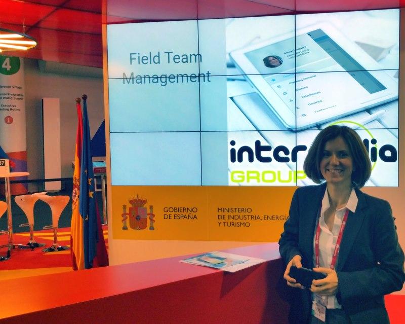 Gema Casquero, directora de Marketing en la cabecera del Pabellón de España