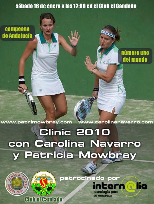 Clinic 2010  con Carolina Navarro y Patricia Mowbray