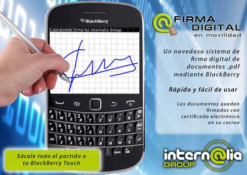 firma tactil copia