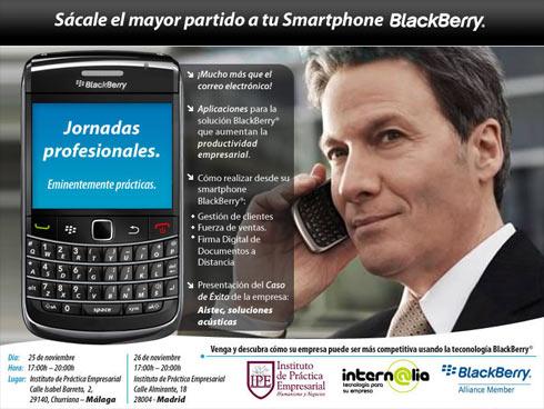 Jornadas Profesionales Blackberry