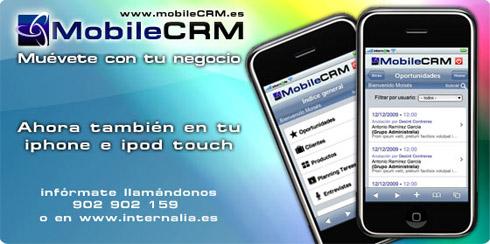 Mobile CRM en tu Iphone e Ipod Touch