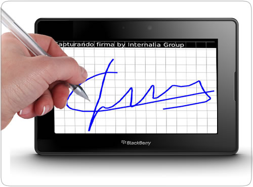 Firma Digital para BlackBerry PlayBook